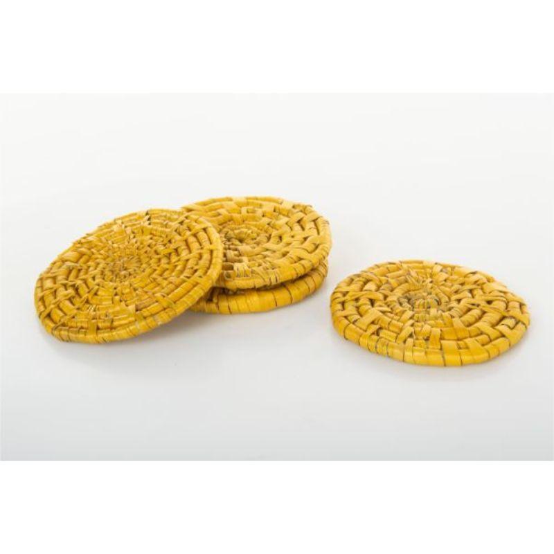 Handmade Moonj and Kash Coasters