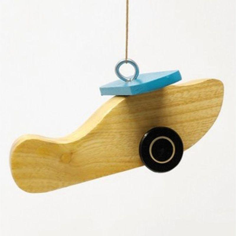 Wooden Planes Mobile