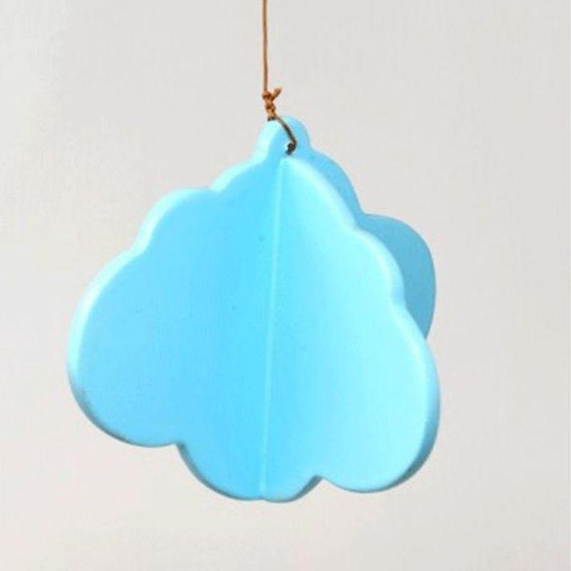 Wooden Night Sky Mobile