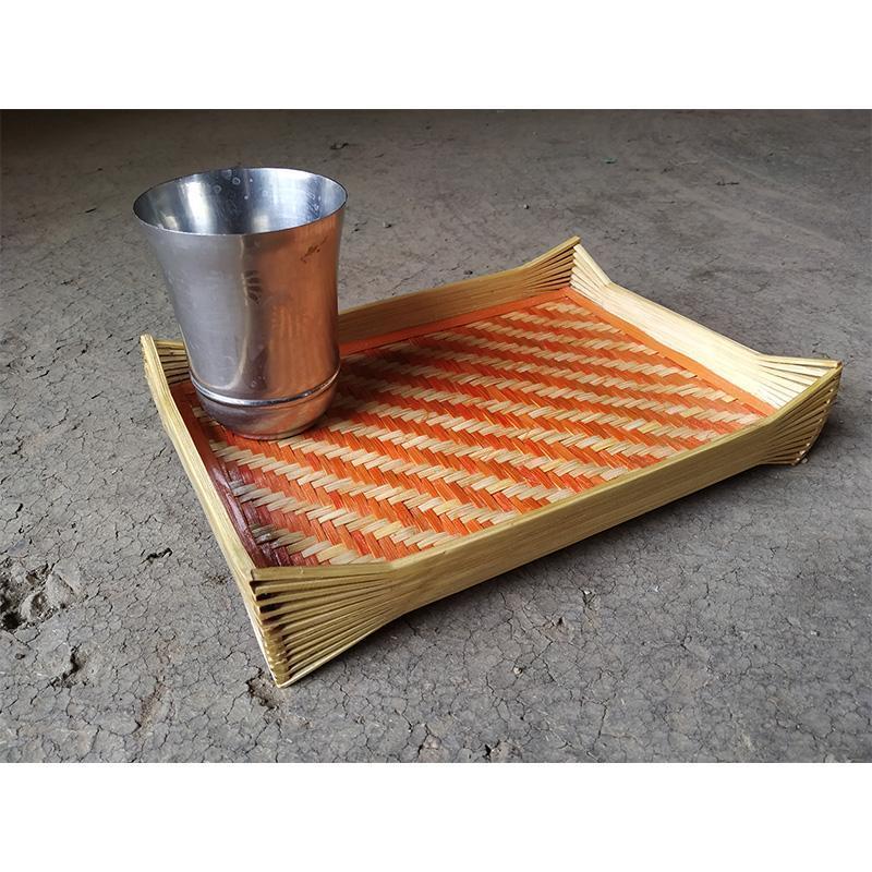 Handmade Small Bamboo Tray