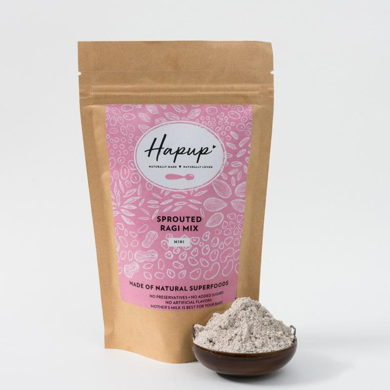 Natural Sprouted Ragi Mix