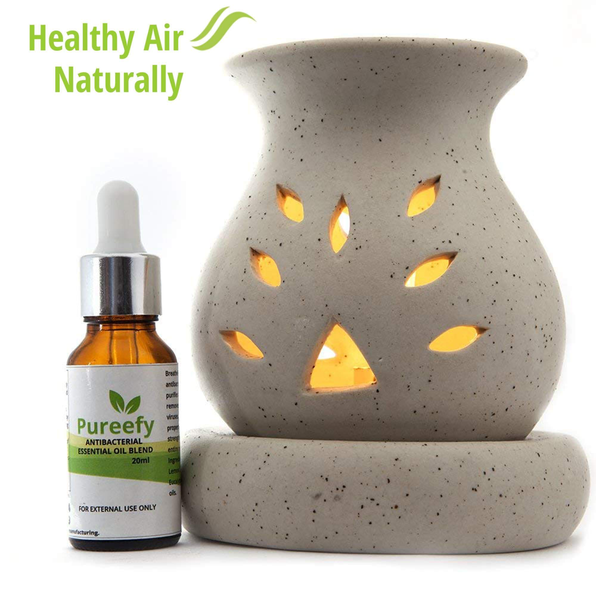 Antibacterial Essential Oil Blend with Electric Diffuser