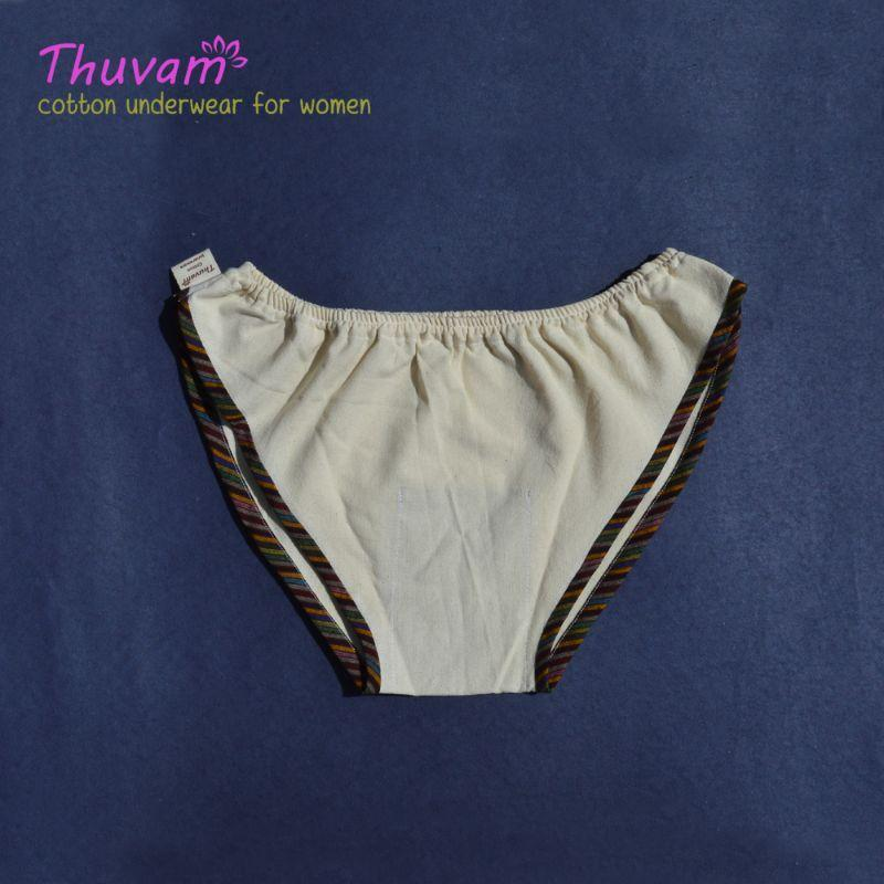 Woven Cotton Panties