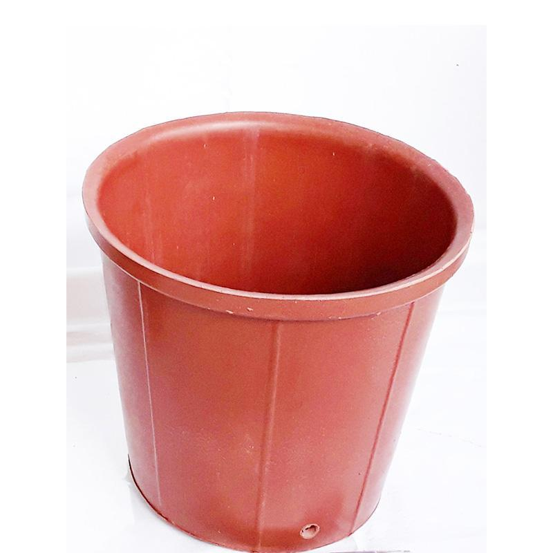 Pink Upcycled Tyre Rubber Pots