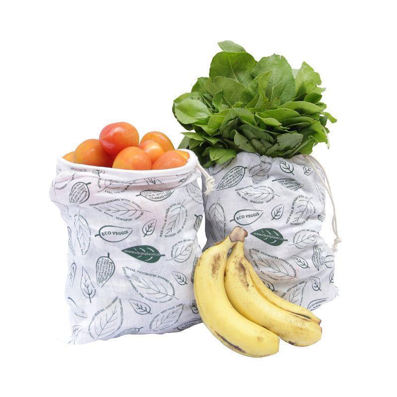 Cotton Fridge Storage Bags