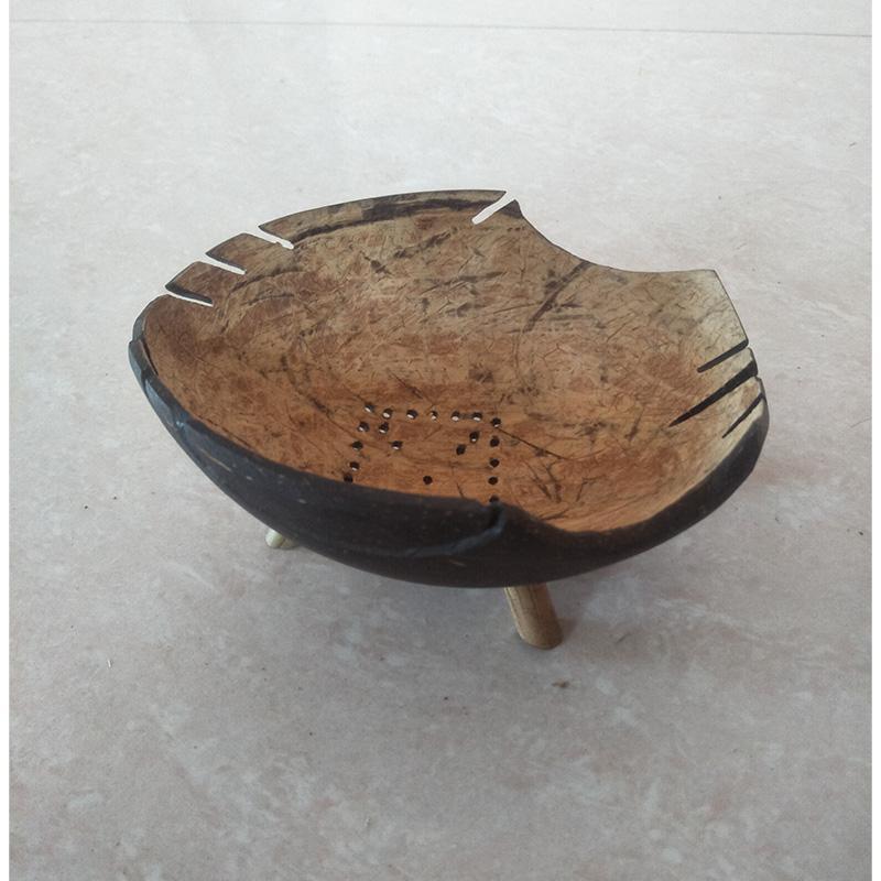 Modern Coconut Shell Soap Case