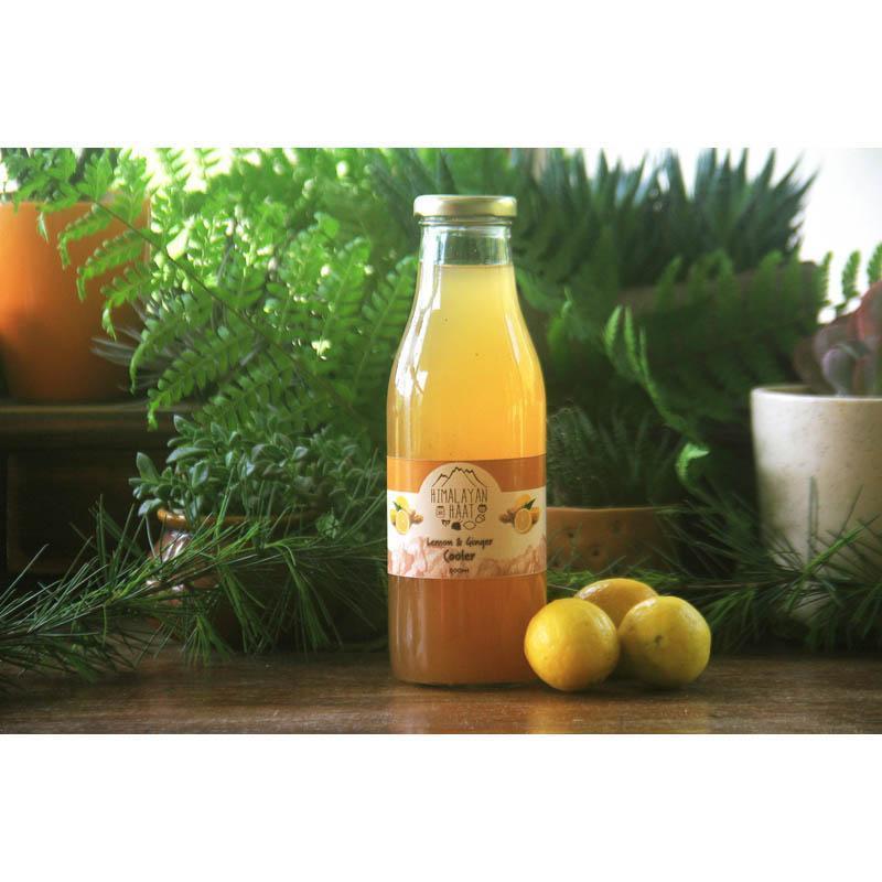 Lemon Ginger Cooler