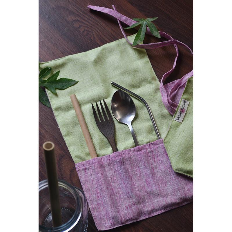 Khadi Cotton Reusable Cutlery Wraps