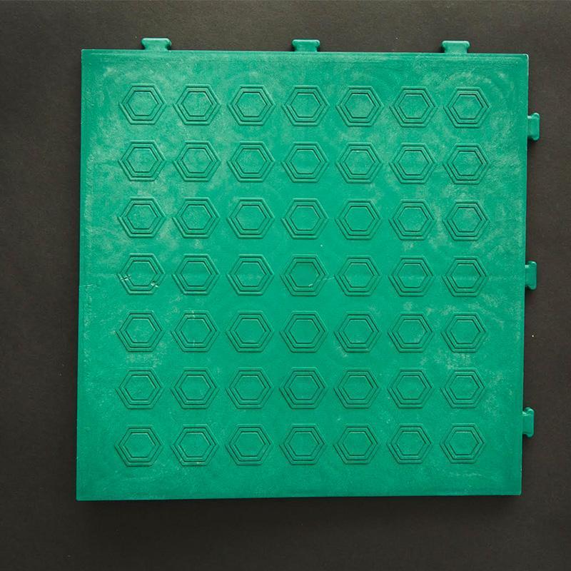 Recycled HDCP Floor Tiles