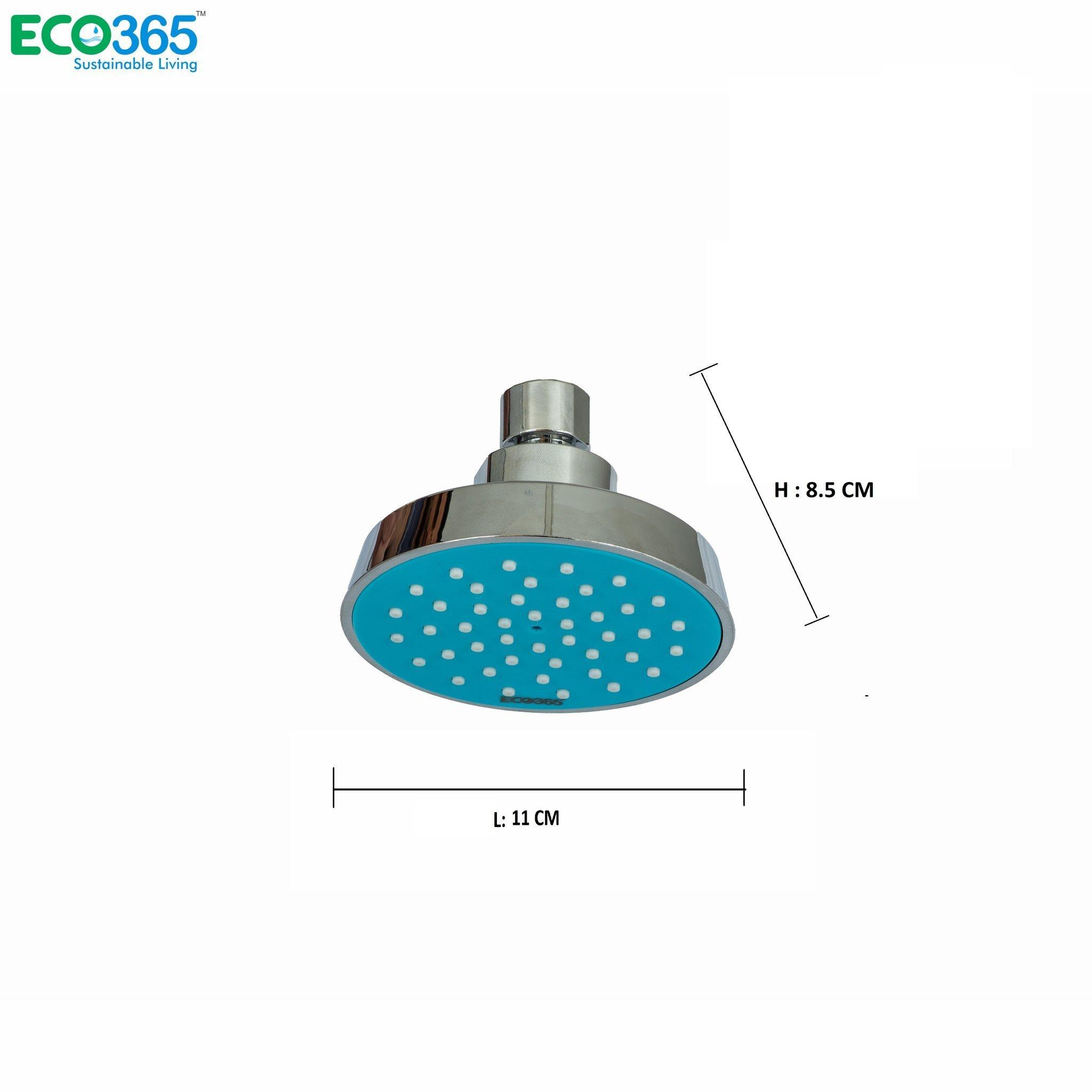 Water-Saving Blue Shower Head
