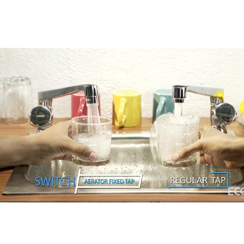 Water Saving Switch Aerator For Taps