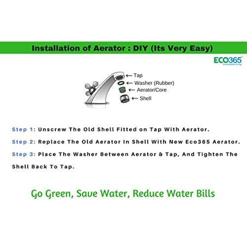Anti-Theft Water Saving Aerator