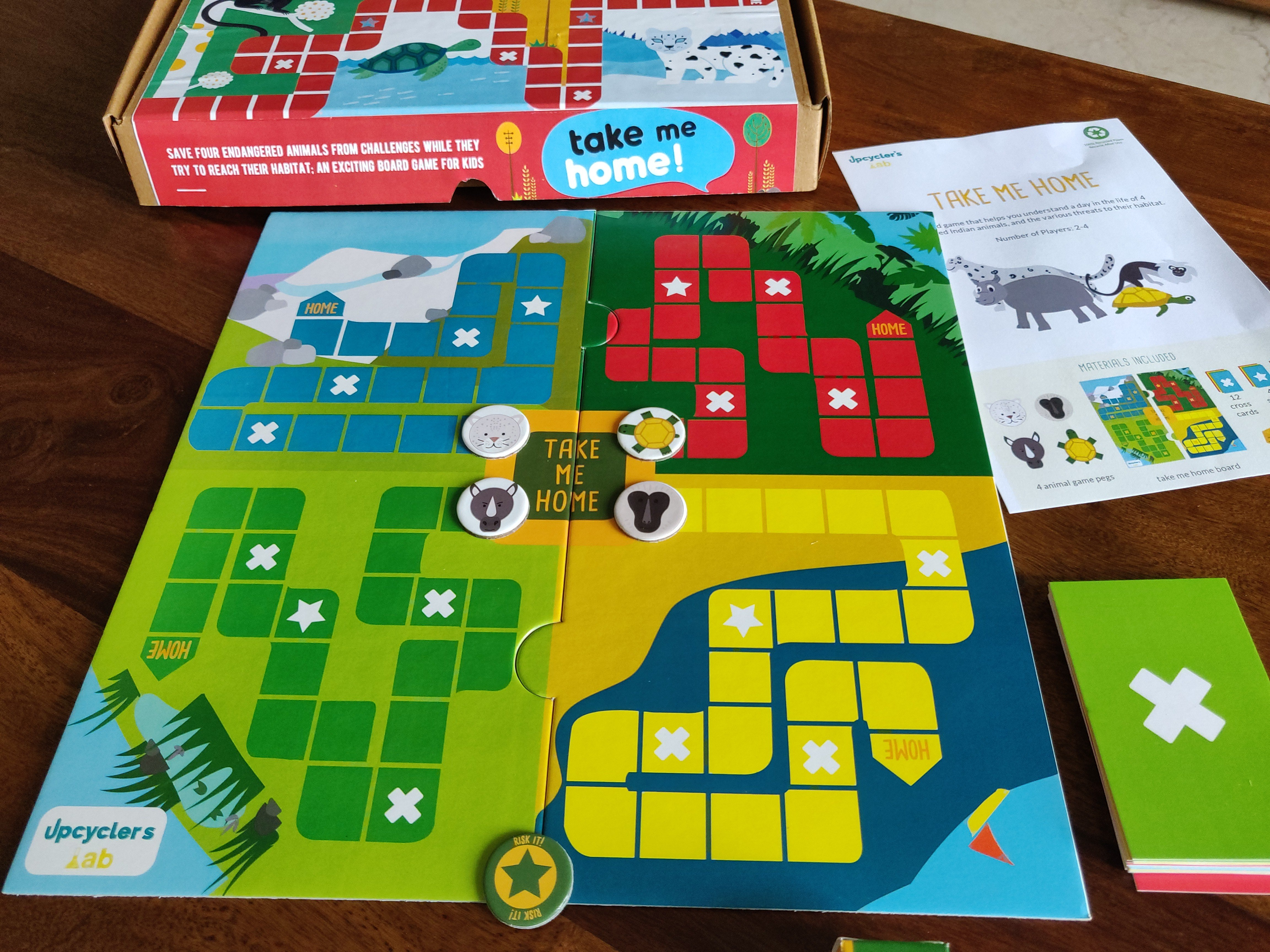 Take Me Home Board Game