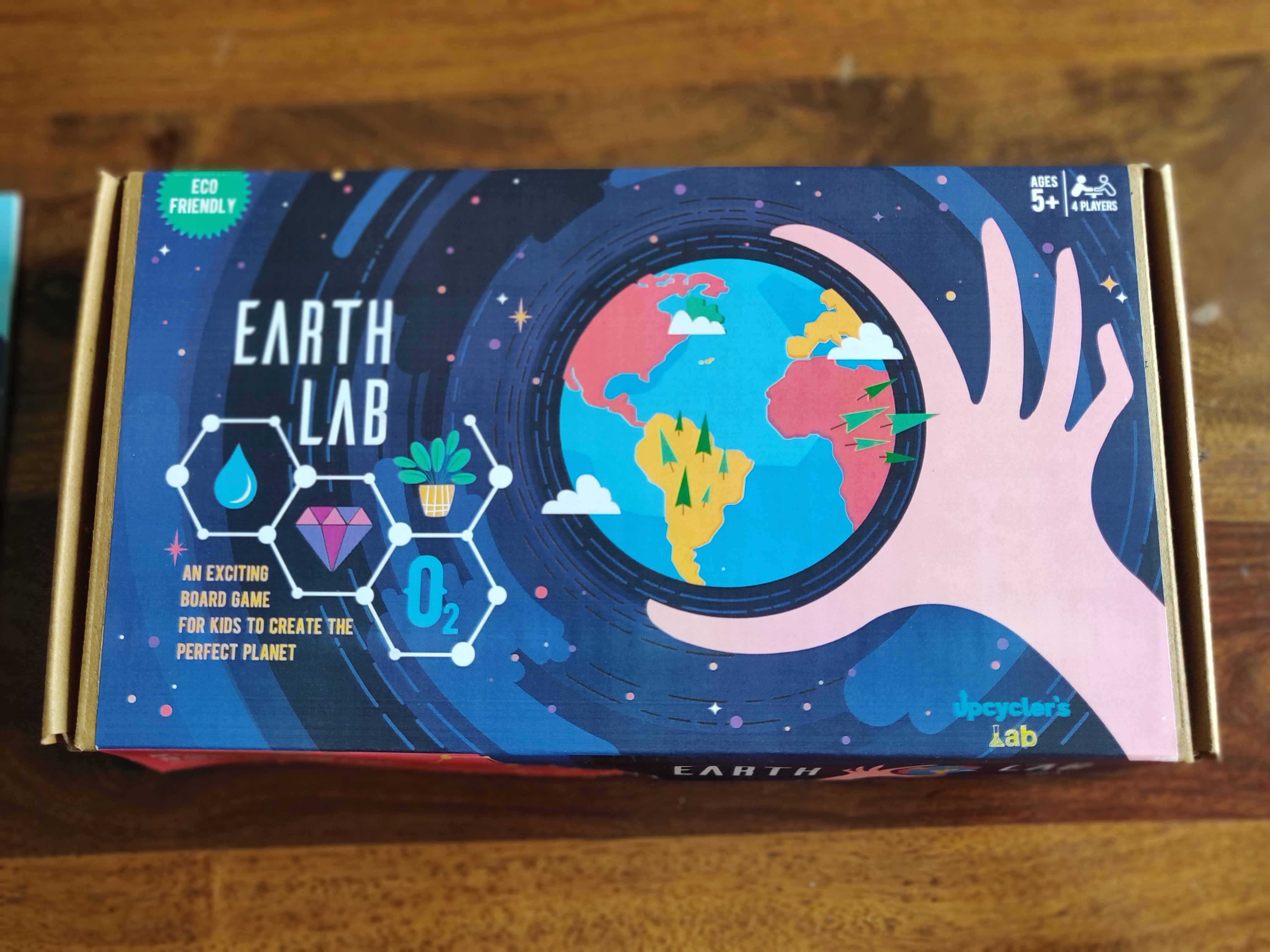 Earth Lab Board Game