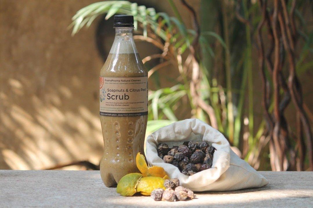 Natural Soapnut & Bioenzyme Kitchen Scrub