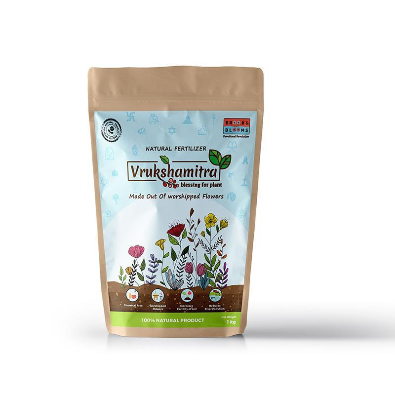 Natural Fertilizer made of Upcycled Flowers