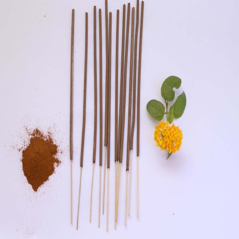 Incense Sticks made of Upcycled Flowers