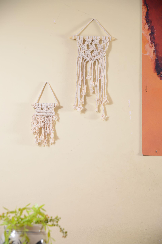 Gemini Macrame Wall Hanging