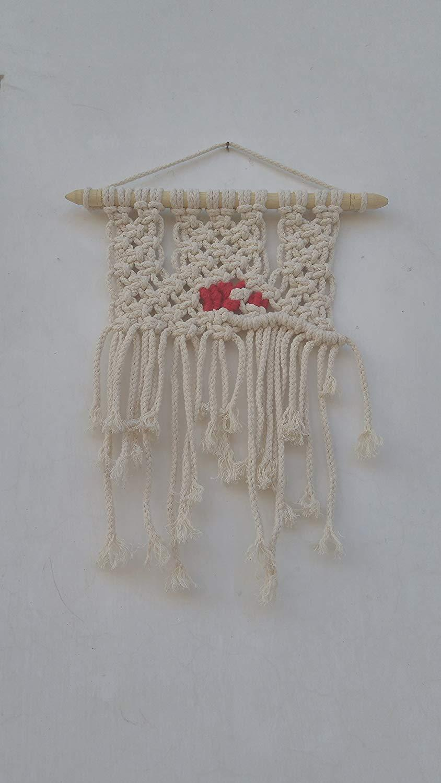 Mini Handwoven Macrame Wall Hanging