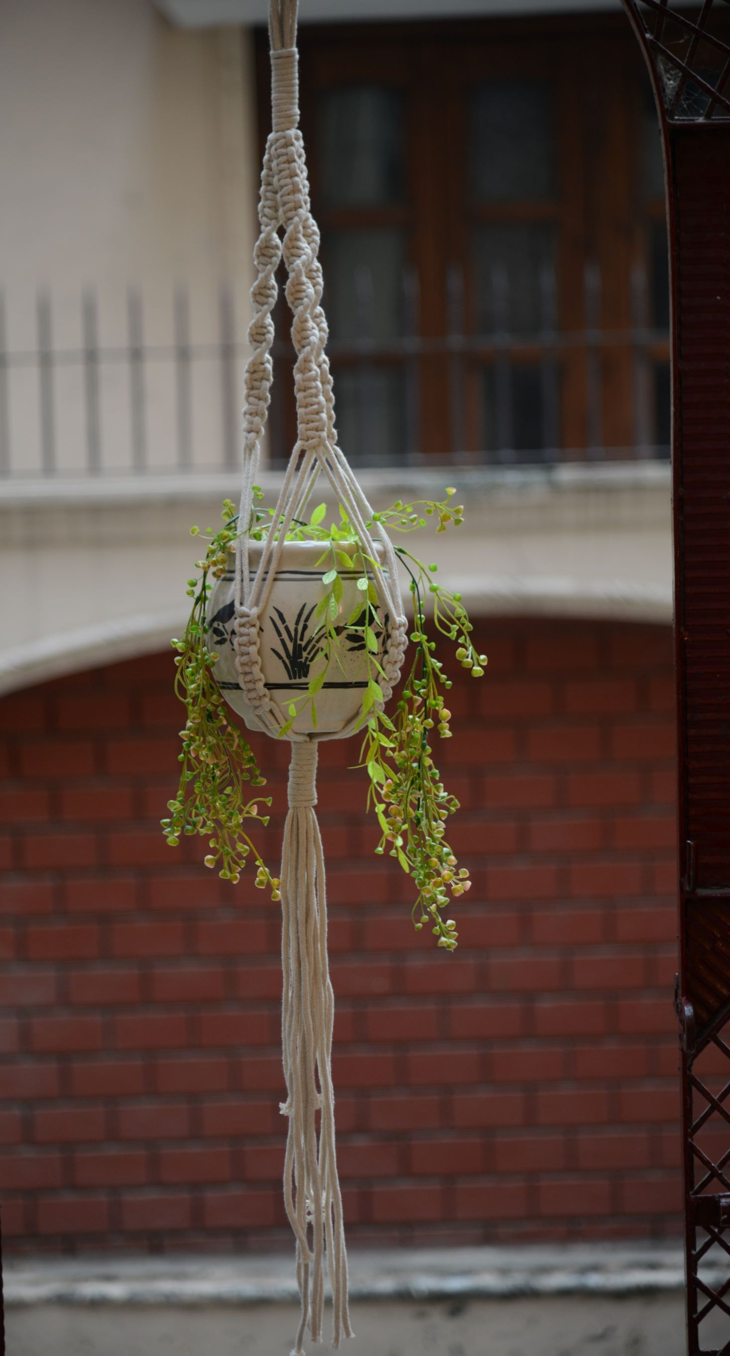 Suraj Macrame Pot Holder