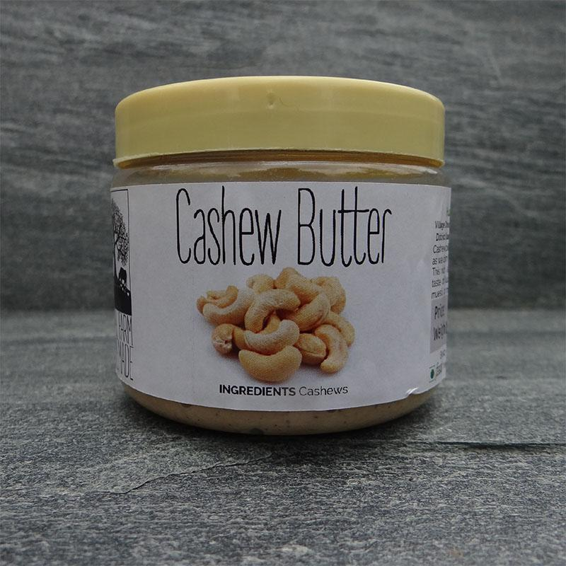 All-Natural Vegan Raw Cashew Butter