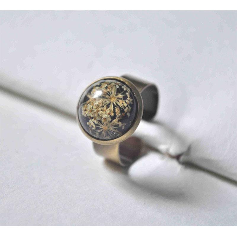 Hand Pressed Adjustable Ring
