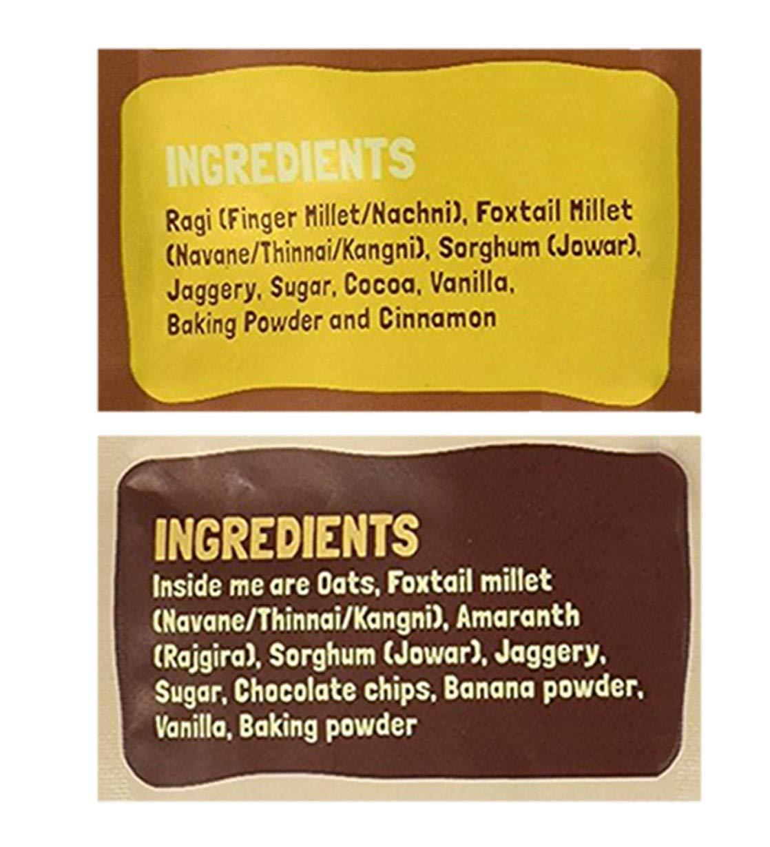 Instant Breakfast Millet Pancake Mix Combo Pack
