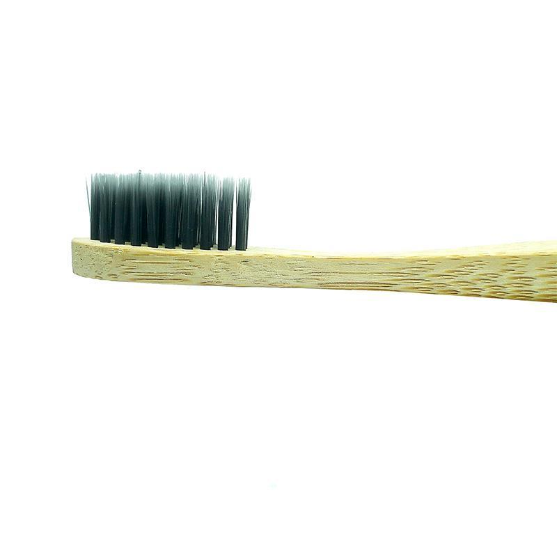 Biodegradable Bamboo & Charcoal Toothbrush