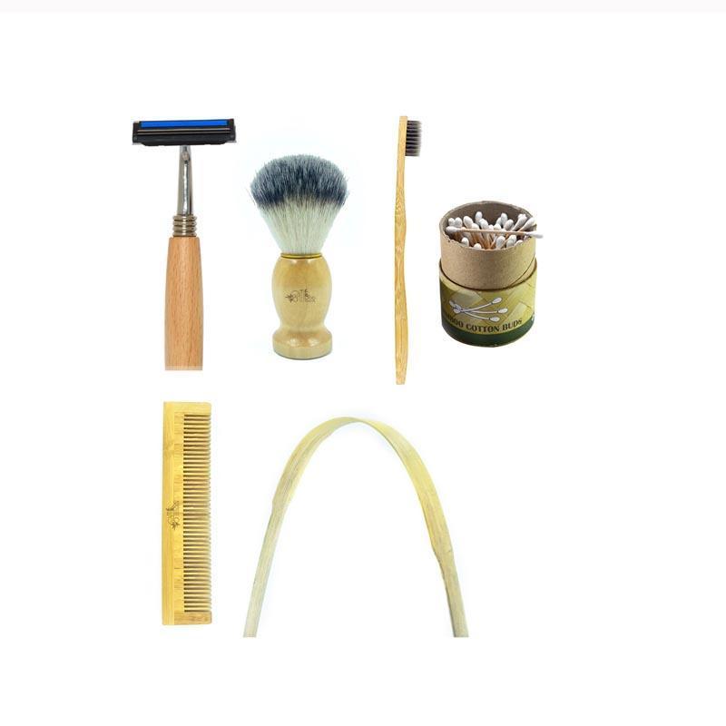 Bamboo Men's Hygiene Kit