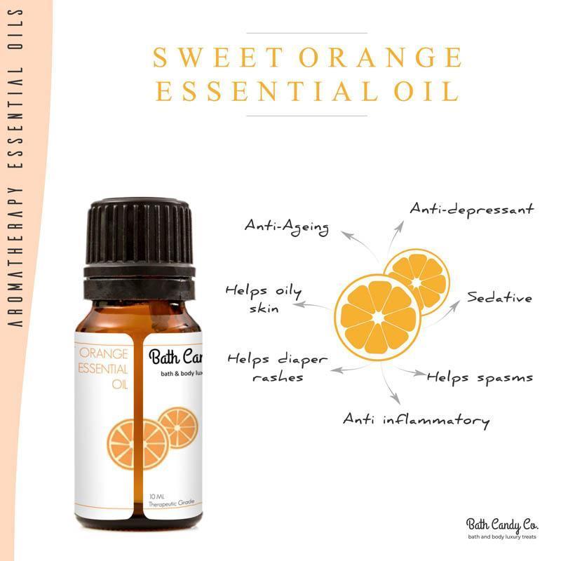 Natural Sweet Orange Essential Oil