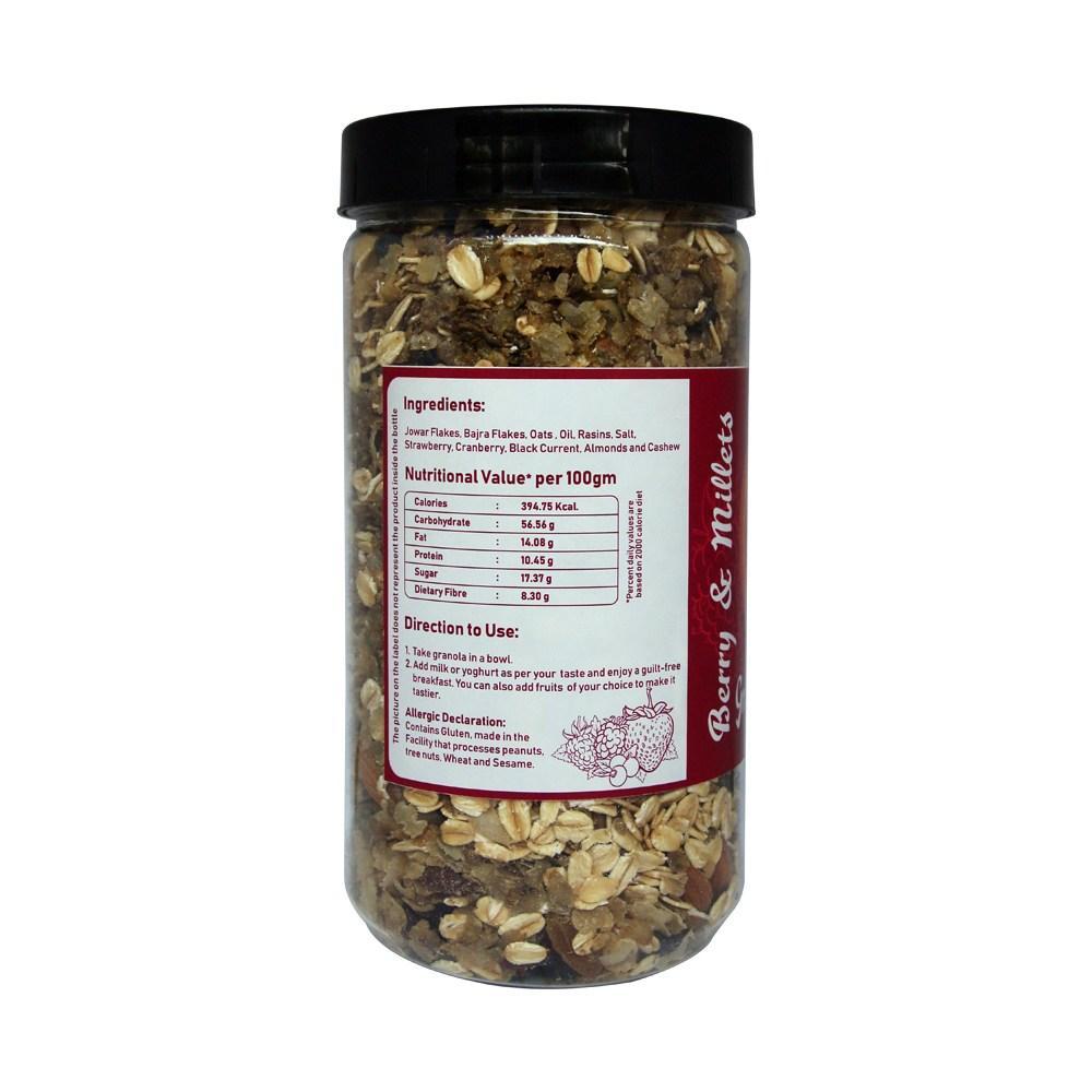 Berry & Millets Granola