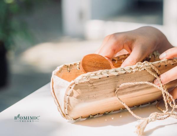 Neemwood & Bamboo Travel Cutlery Kit