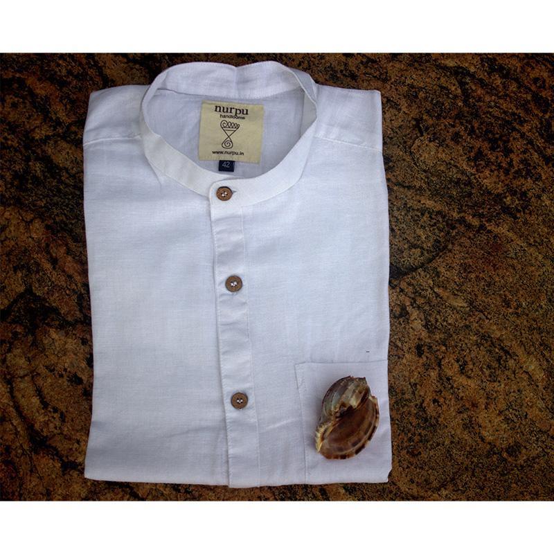 Full Sleeve White Shirt