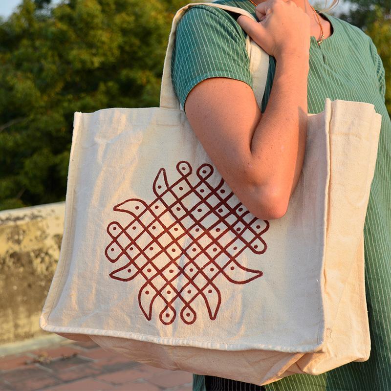 Medium Cotton Vegetable Bag