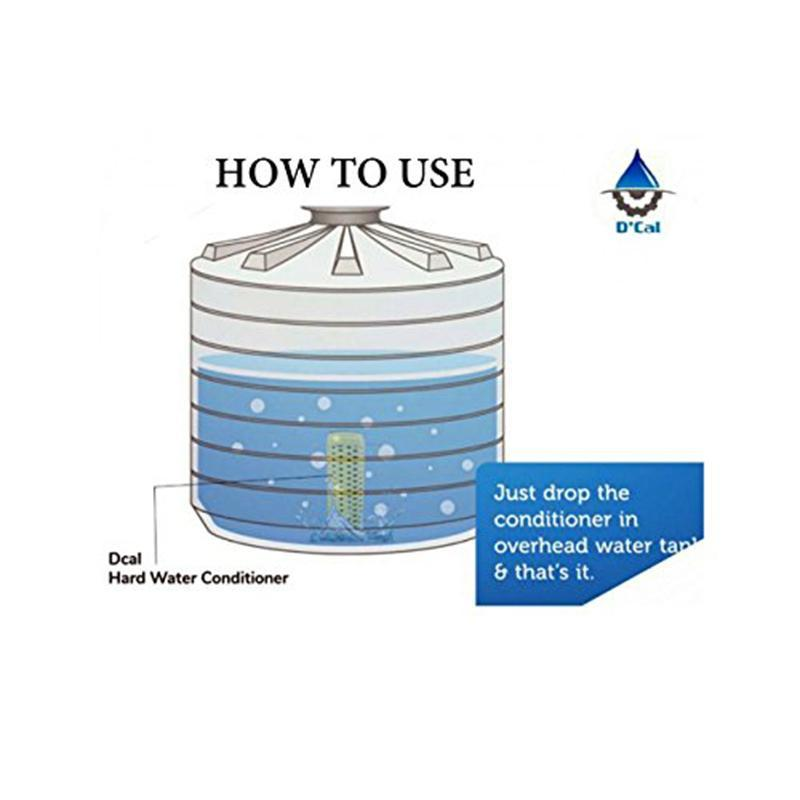 Electricity-Free Hard Water Softener