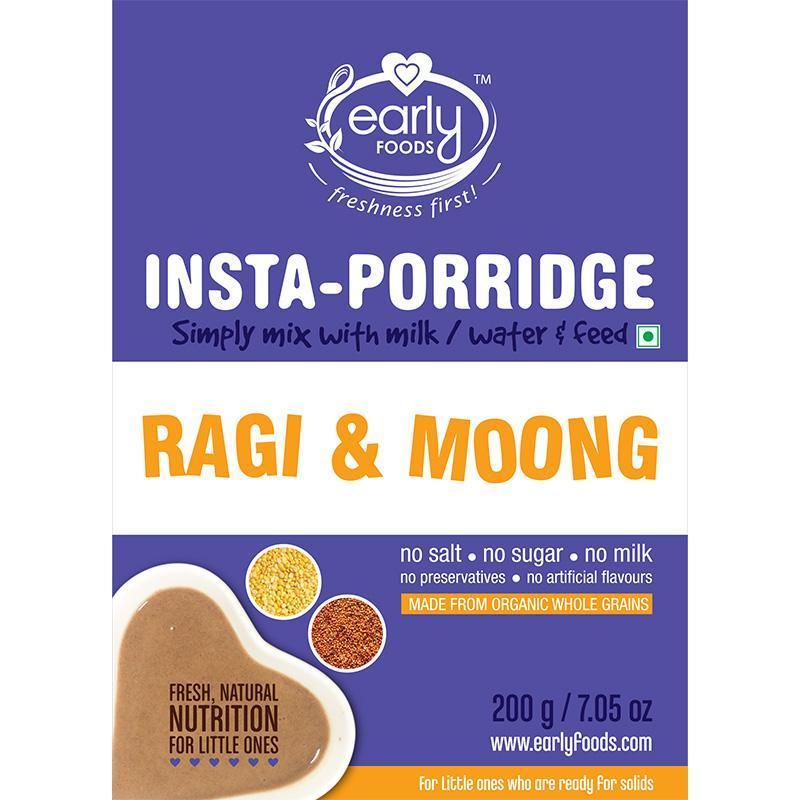 Instant Ragi & Moong Khichdi Mix