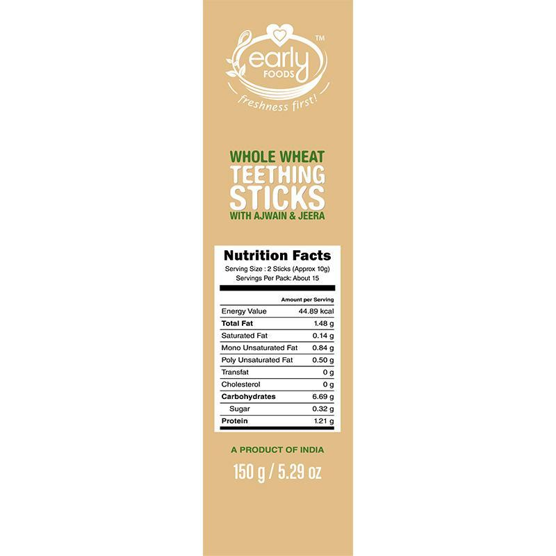 Natural Teething Sticks