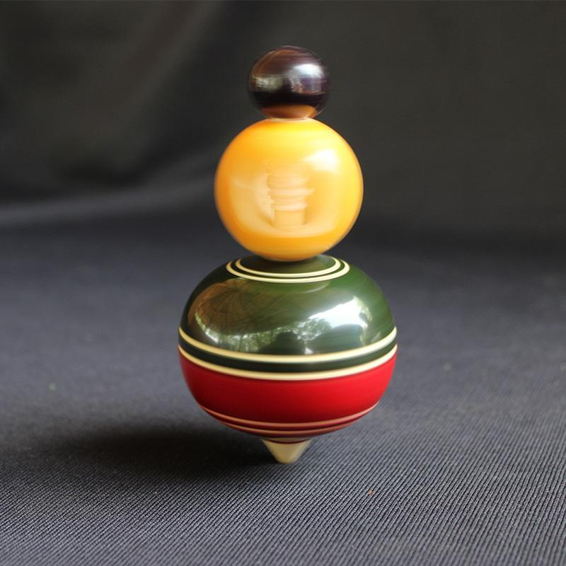 Wooden Spinning Toy Created by Rural Artisans