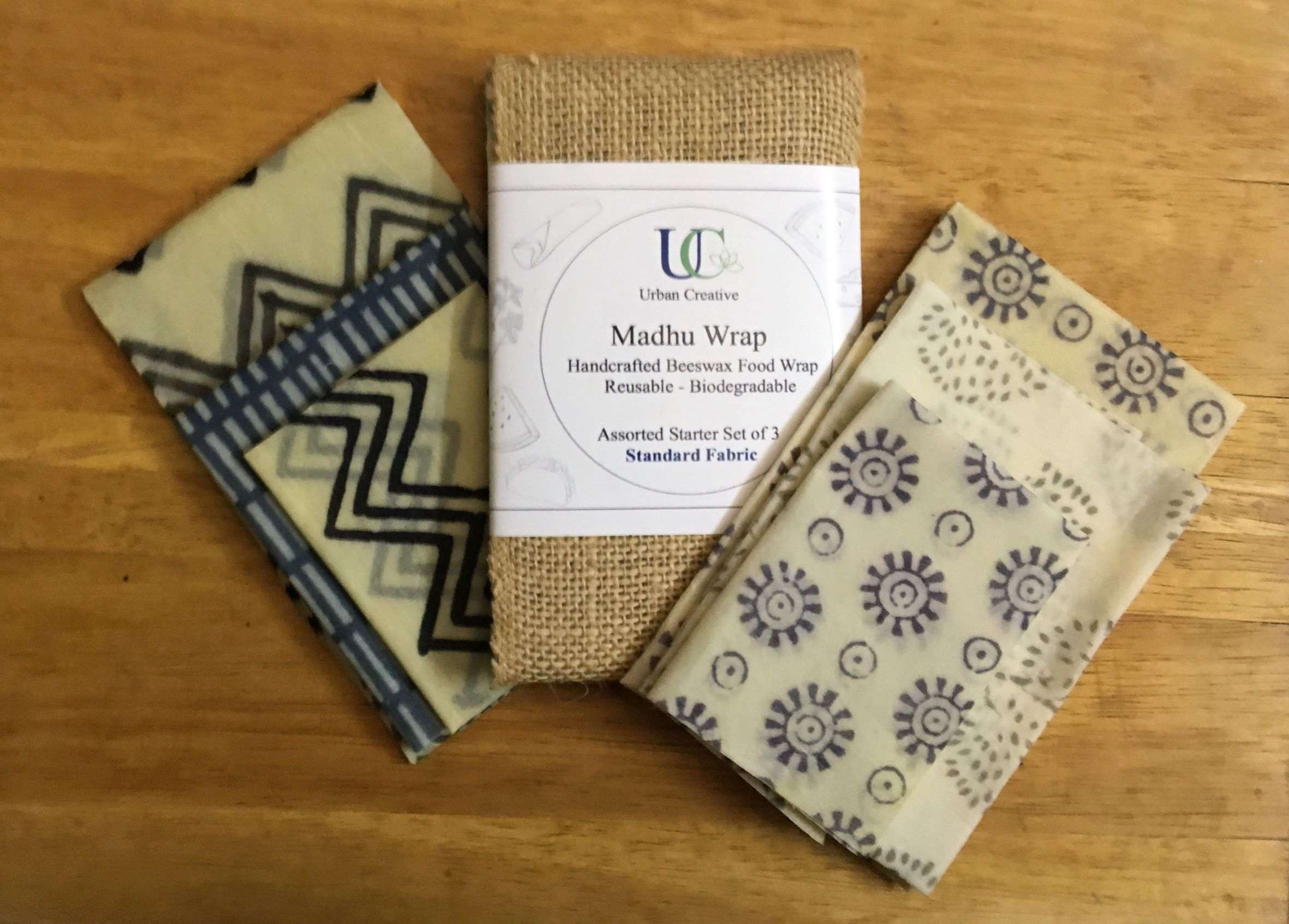 Cotton & Beeswax Food Wraps