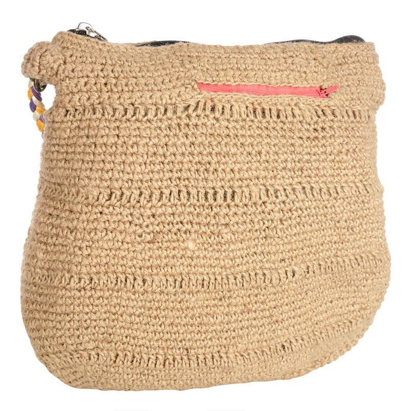 Handcrafted Jute Shopping Bag