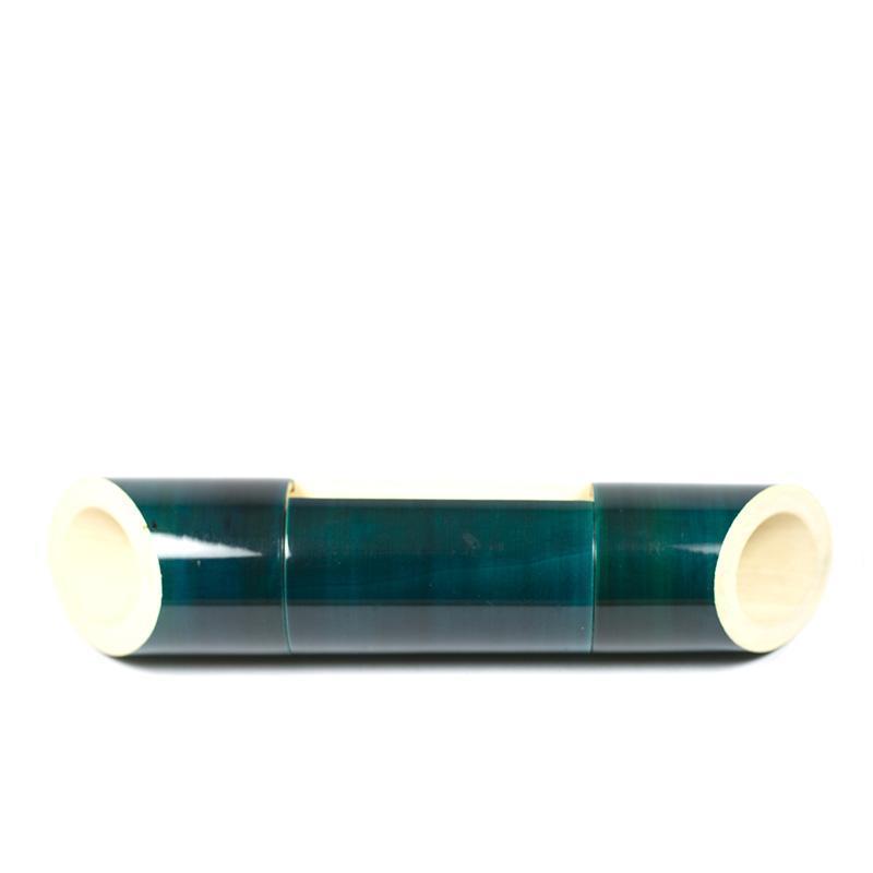 Electricity-Free Indigo Ivory Wood Speaker