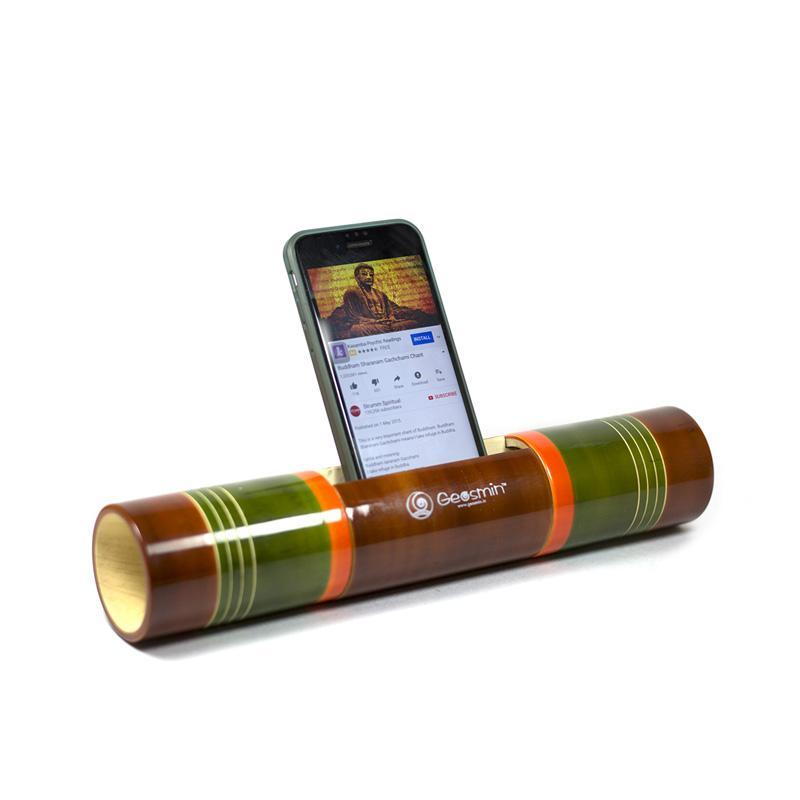 Electricity-Free Multicoloured Ivory Wood Speaker