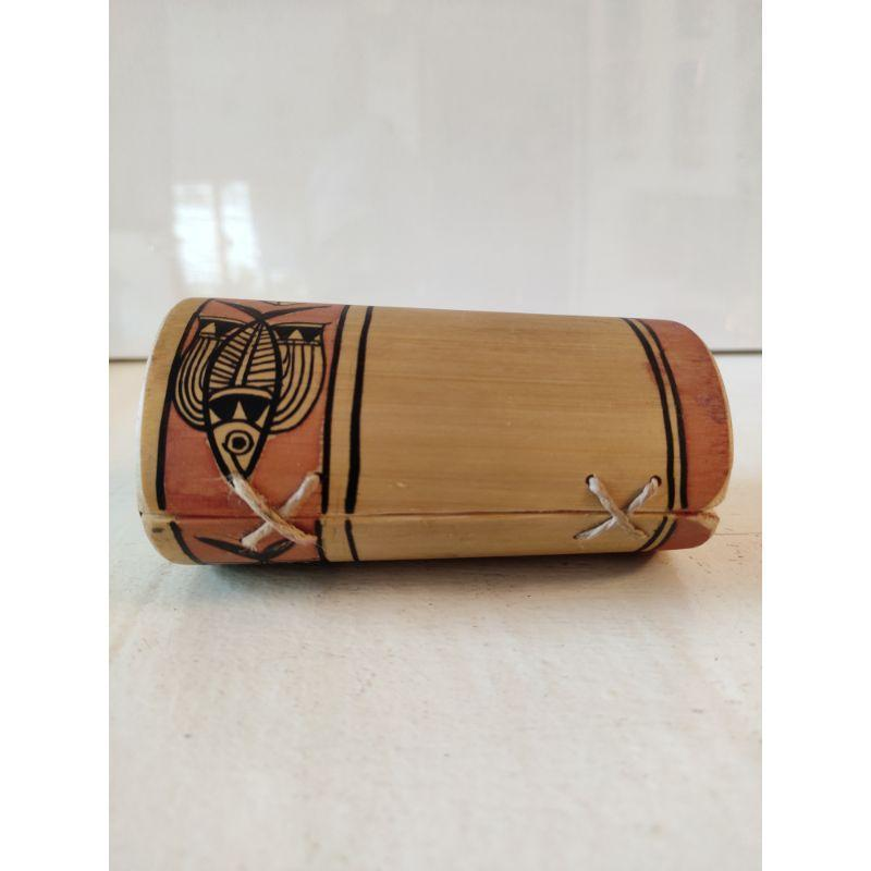 Hand Painted Bamboo Pen Holder