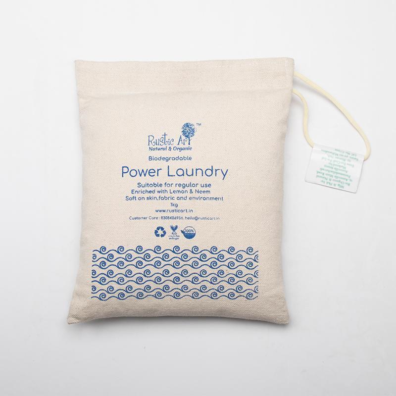 Biodegradable Power Laundry Powder