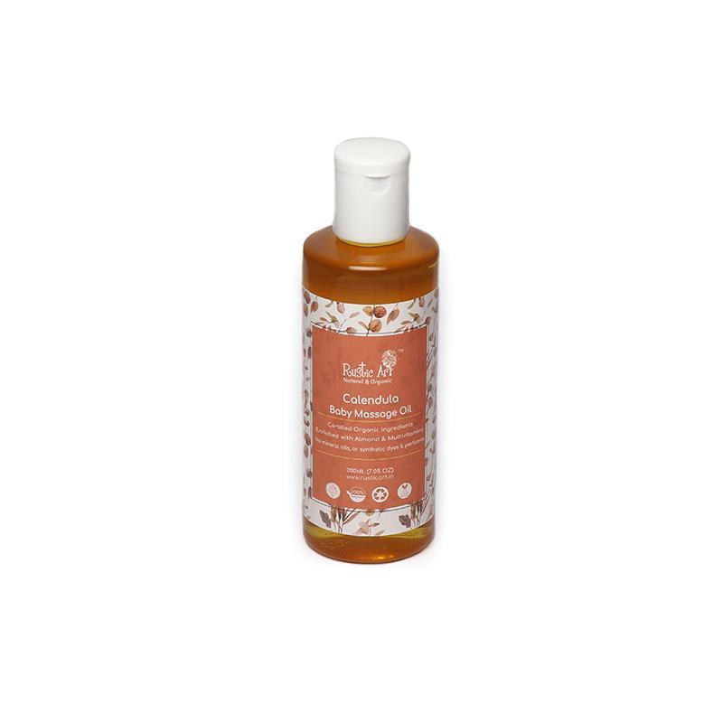 Calendula Baby Massage Oil