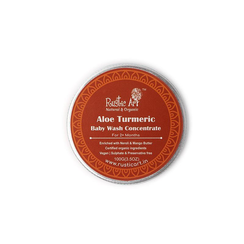 Aloe Turmeric Baby Wash Concentrate
