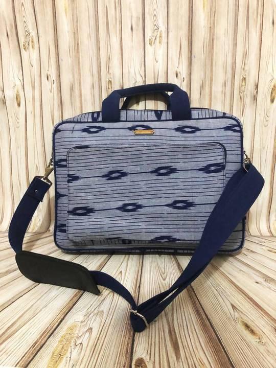 Handwoven Ikat Laptop Bag