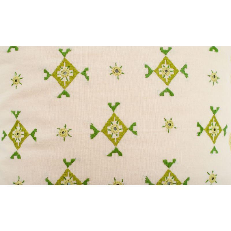 Soof & Mirror Work Cotton Cushion Cover