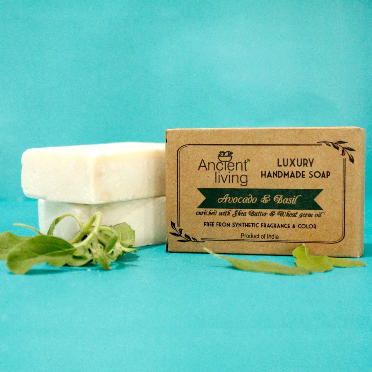 Avocado & Basil Handmade Soap
