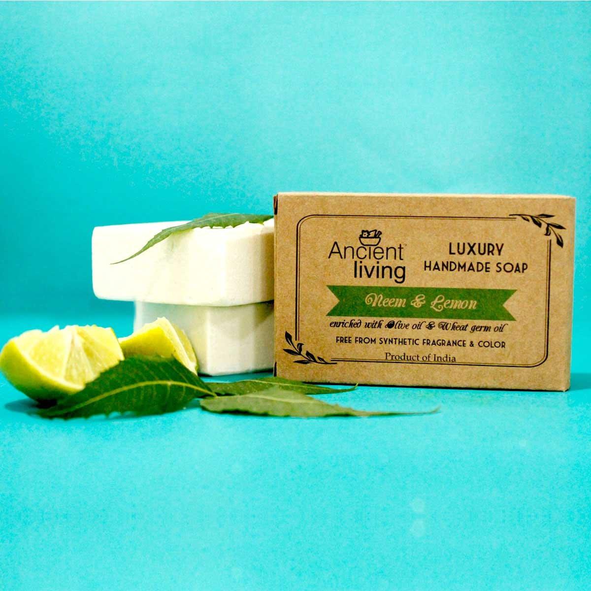 Neem & Lemon Handmade Soap